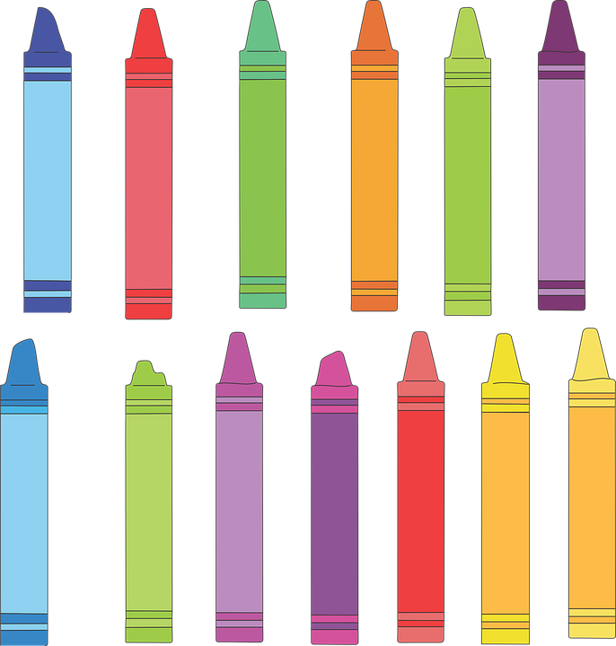 crayon art drawing free vector graphic on pixabay rh pixabay com crayon vector texture crayon vector art