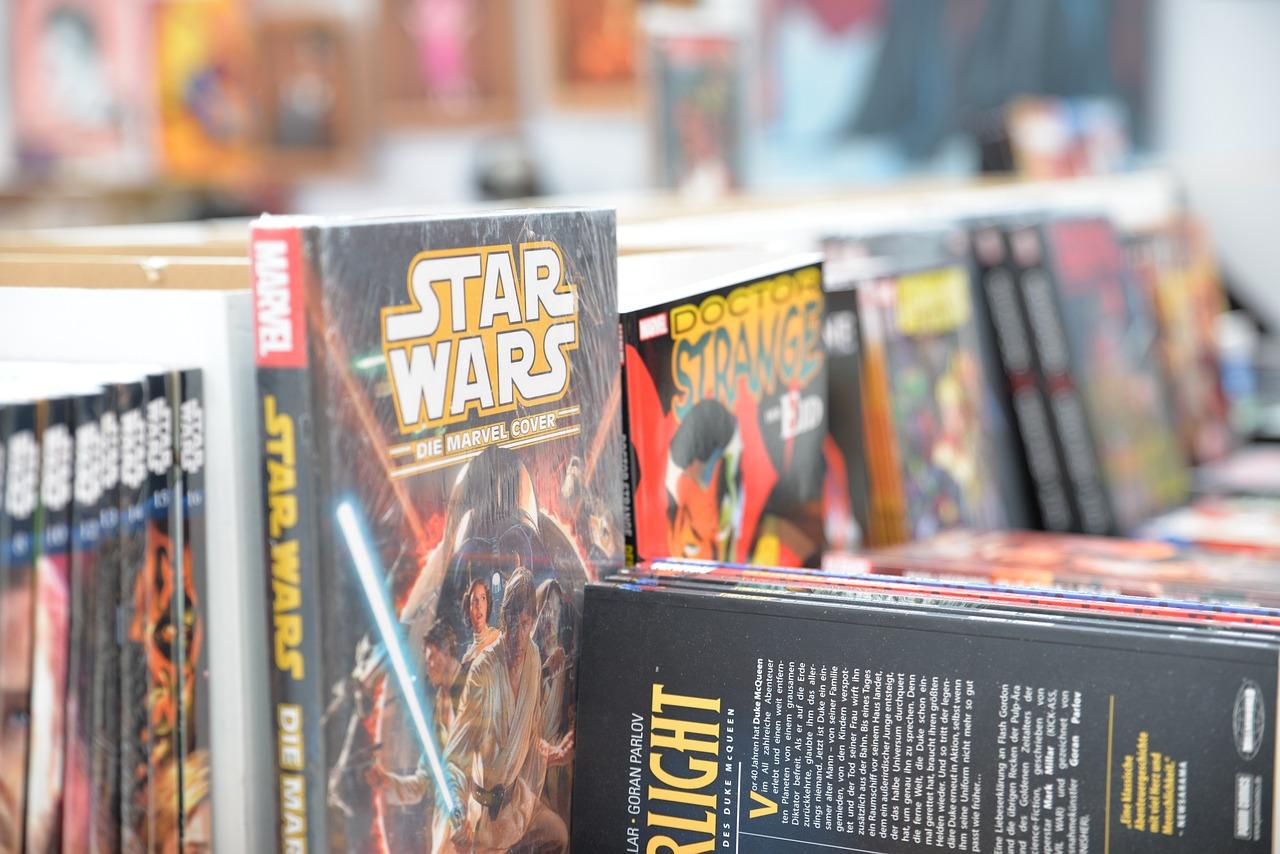 Comic-Con Comics Los Libros Star - Foto gratis en Pixabay