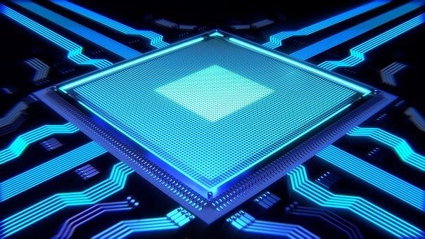 Processor Cpu Computer Chip Board Technolo