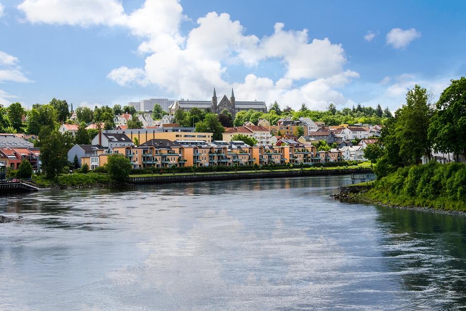 Trondheim, Norway, Town, Europe