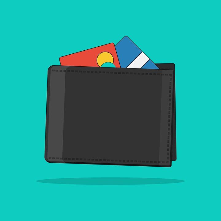 財布, カード, マネー
