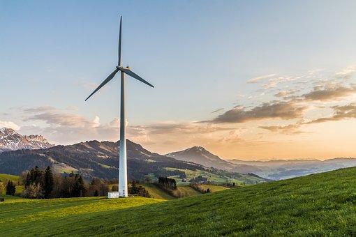 Turbina De Viento, Energía Eólica