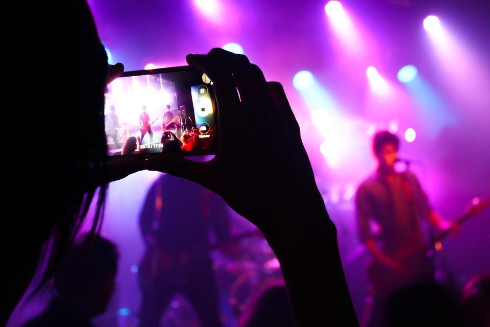 ライブ音楽, 石, 表示, コンサート, ライブ, 音楽, ステージ, エンターテイメント, バンド