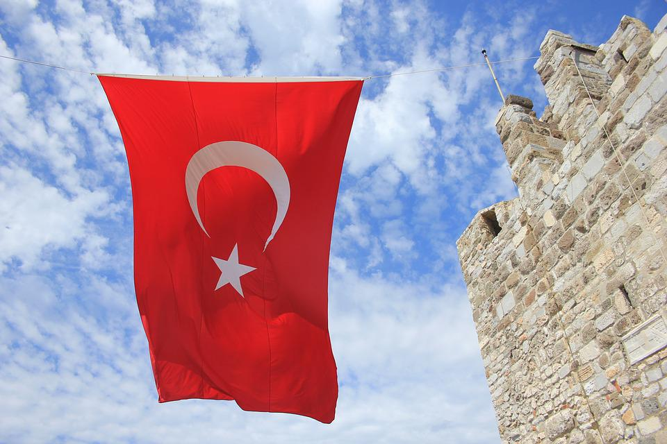Турция, Флаг, Турки, Красный