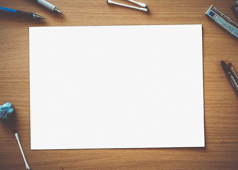 Paper Blank White Empty Page Space Design  Design Paper For Writing