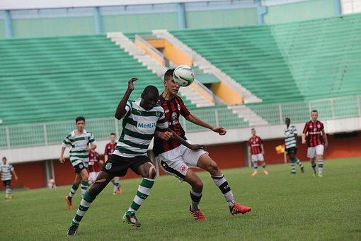 Soccer, Playing Soccer, Goal, Football