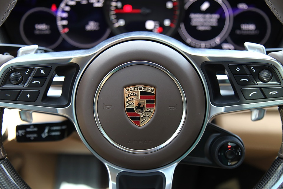 Porsche, The Panamera 4S, Car, Lux, Steering