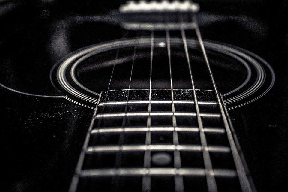 Guitar Classic Black Free Photo On Pixabay