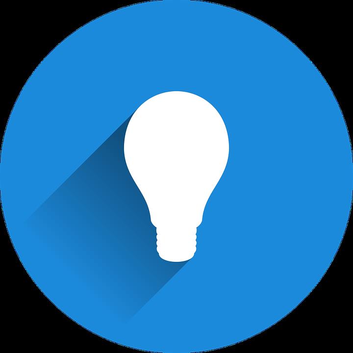 Light Bulb, Idea, Incidence, Pear, Light