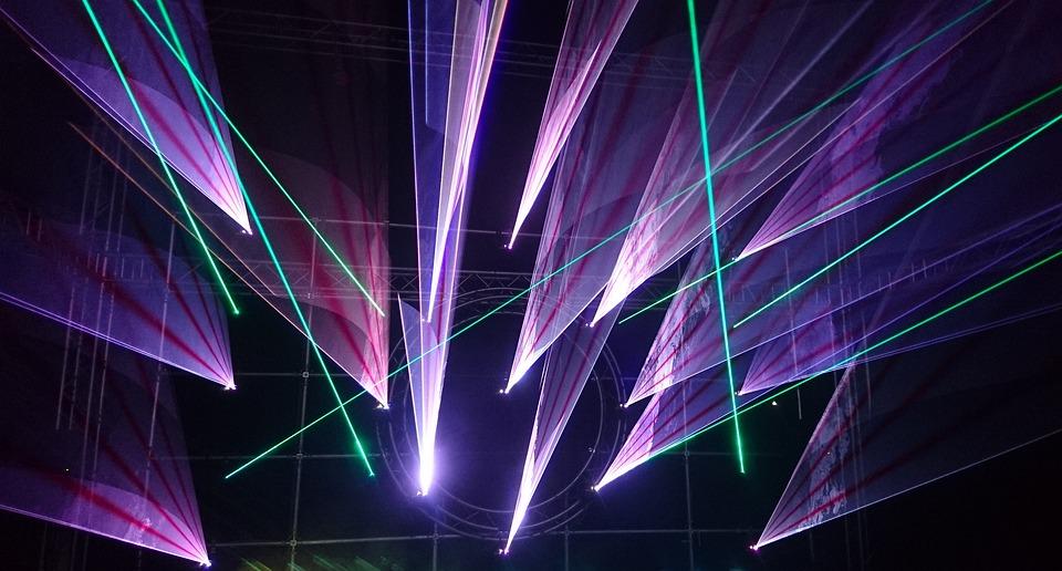Foto Gratis Lightshow Laser M 250 Sica Festival Imagem