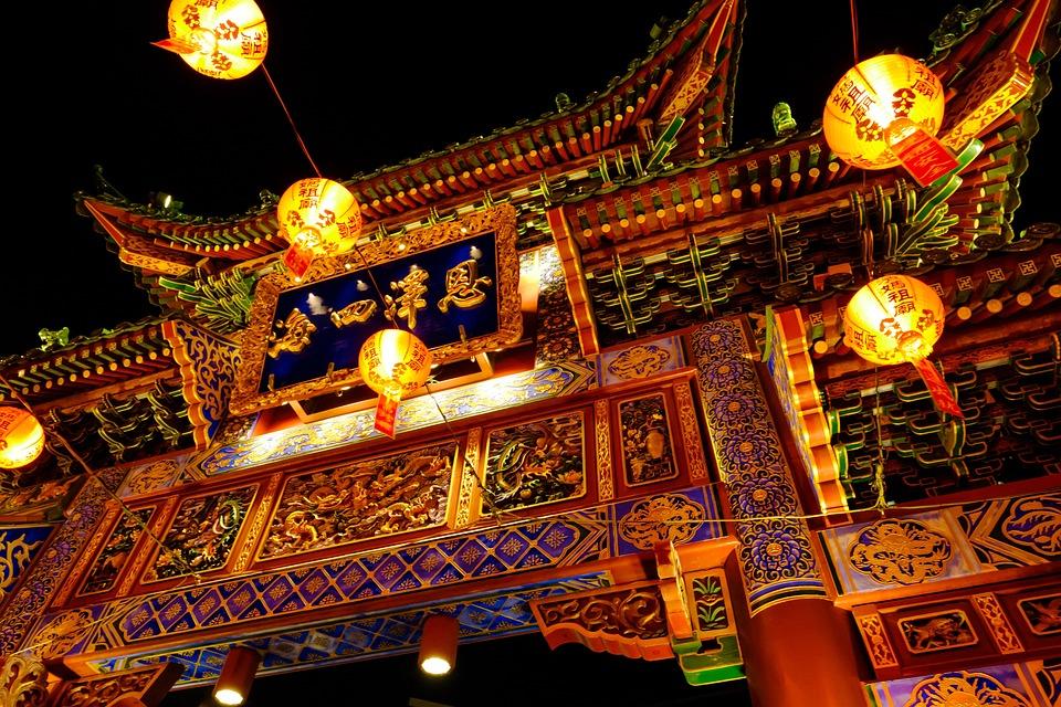 横浜, 中華街, 神奈川県, チャイナタウン, 元町, ランプ, 照明