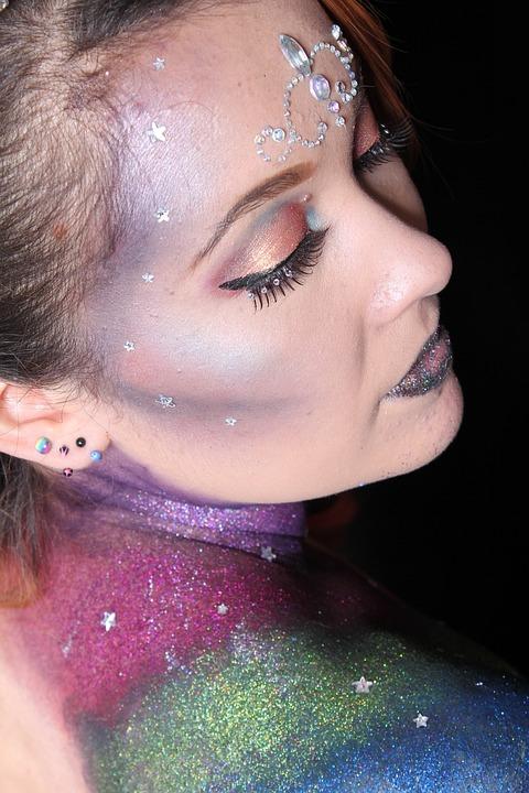 Make Up Fasching Kostenloses Foto Auf Pixabay