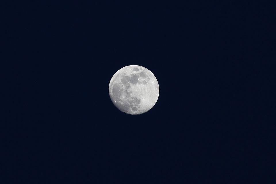 gambar bulan cerah