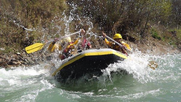 Rafting, Gommone, Fiume, Avventuroso