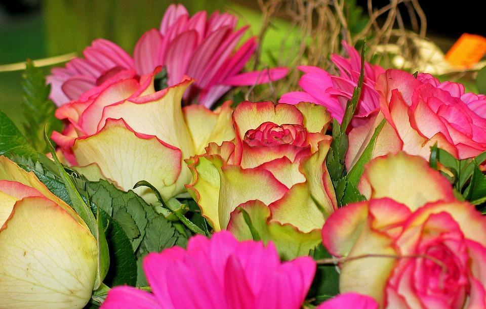 Ramo De Flores Grande. Ramo De Flores Grande. Cm De Seda