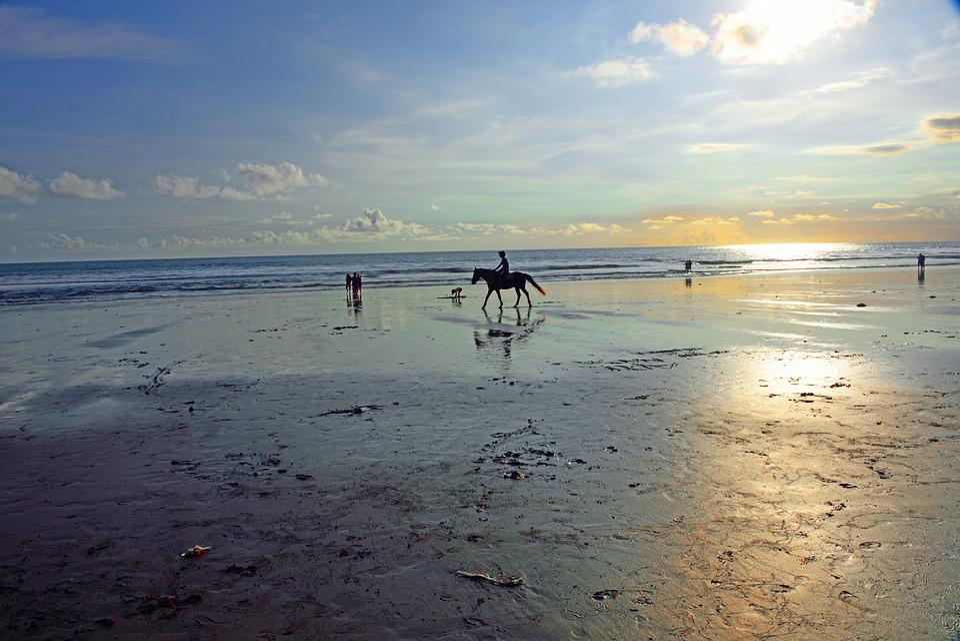 La Plage De Jimbaran, Jimbaran, Bali, Indonésie