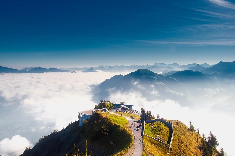 Stanserhorn, Switzerland, Mountain, Swiss, Alps