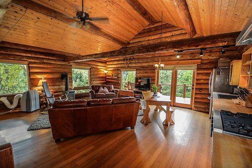 Log Home, Log, Home, Rustic, Country