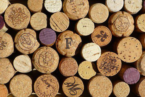 Cork Wine Winery Red Macro Wood Pattern Te