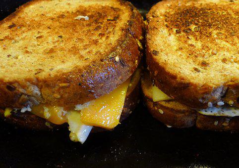 Double Cheese Grilled Turkey Sandwich Recipe