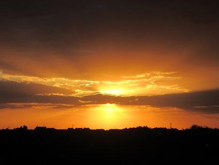 Auringonlasku, Värit, Luonnonkaunis