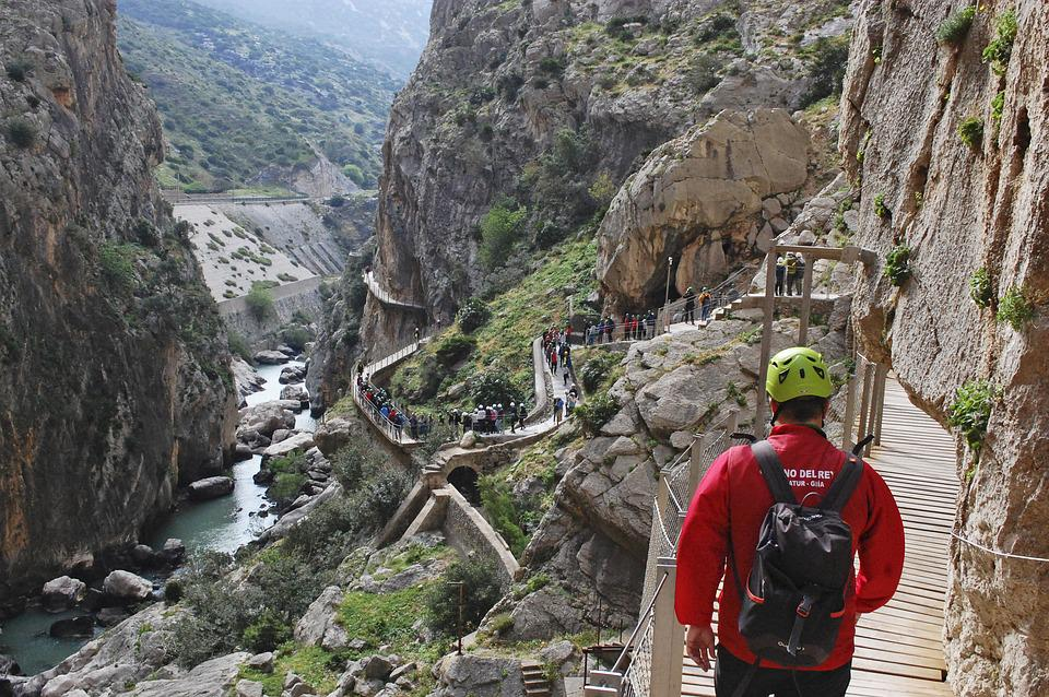 A Király Út, Malaga, Kaland, Aktív Turizmus, Magasság