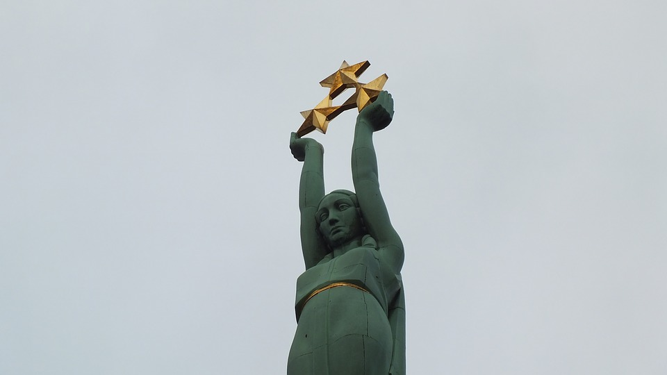 Freedom Monument, Riga, Latvia, Old Town, Freedom