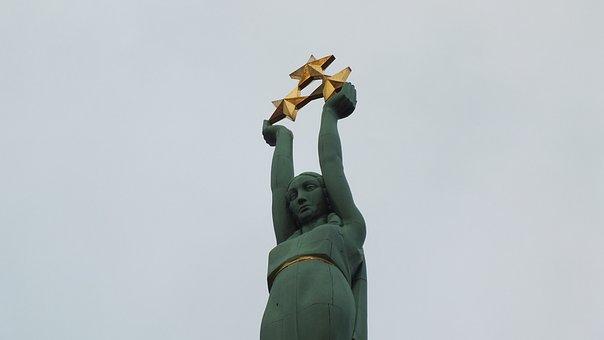 Freedom Monument, Riga, Latvia, Old Town