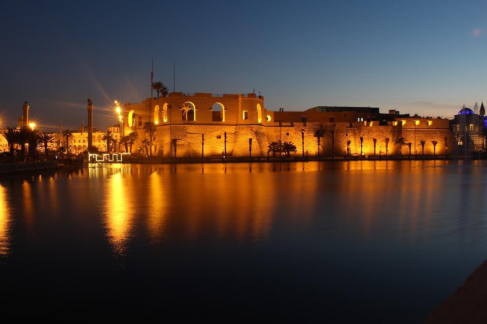 Trypolis, Libia, City, Afryka, Kapitału, Tag, Urlop