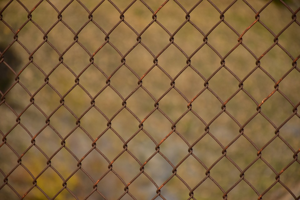 Fence Texture Steel · Free image on Pixabay