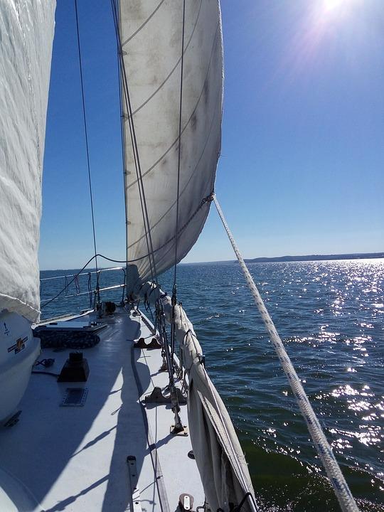 yate mar veleros crucero agua