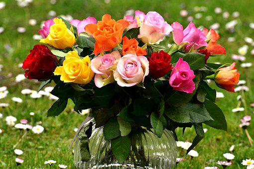 Image result for rose bouquet pic