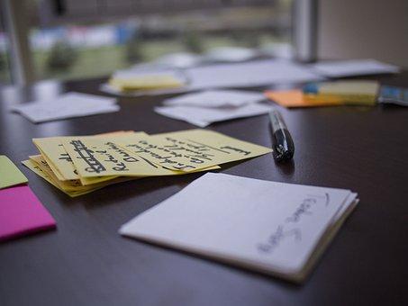 Lean Startup, Post It, Atelier