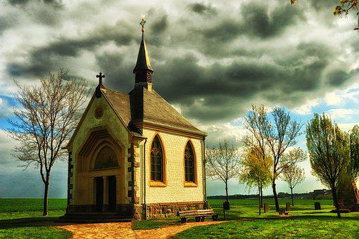 Chapel, Eifel, Germany, Wayside Chapel