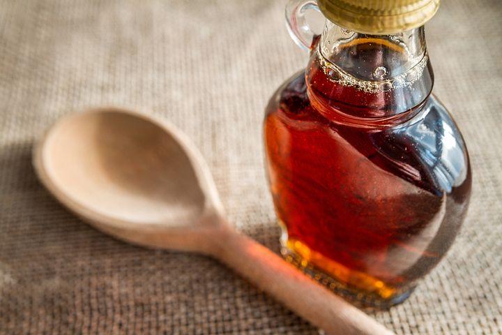 Pancakes syrup