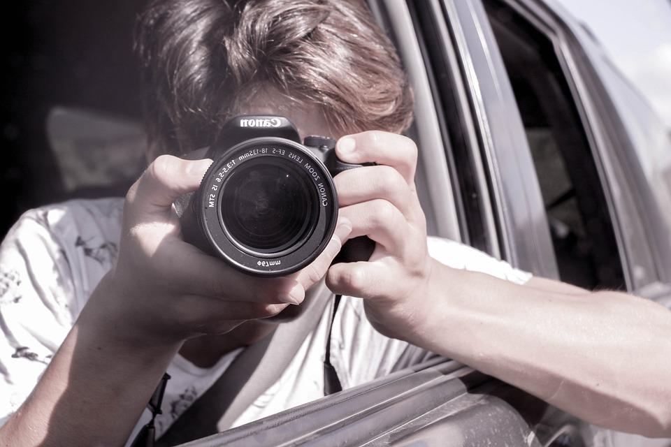 Selfie, Über Uns, Auto, Schuss, Uns, Telefon