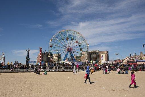 Coney Island, Beach, Brooklyn