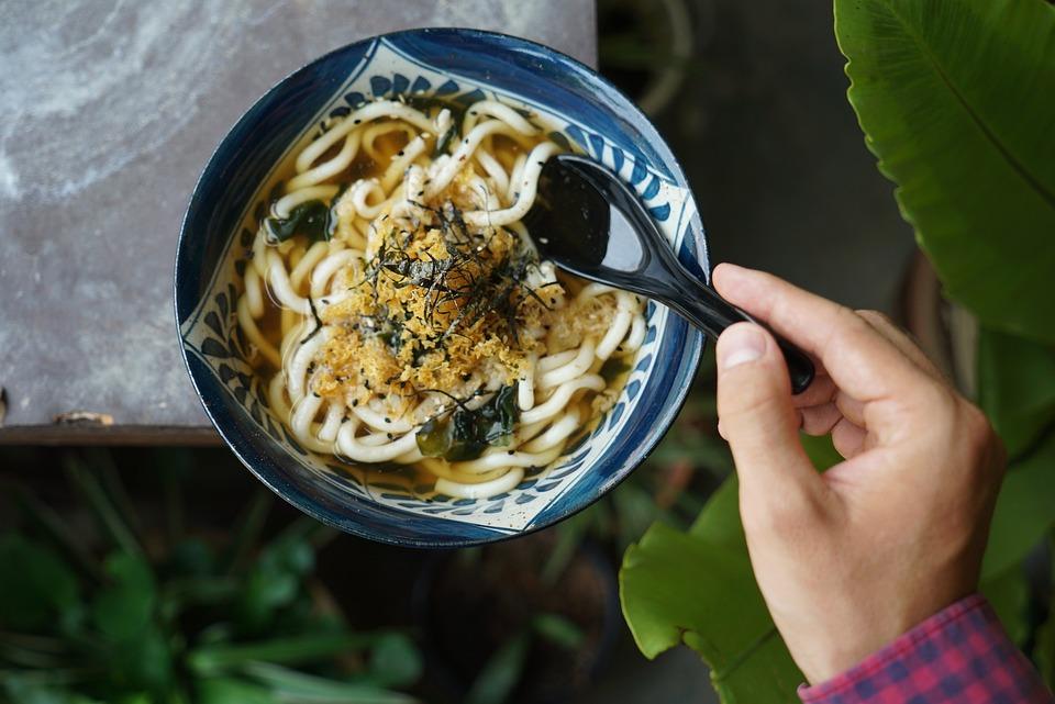 Udon, Noodles, Soup, Delicious, Food, Court, Eat, Cook