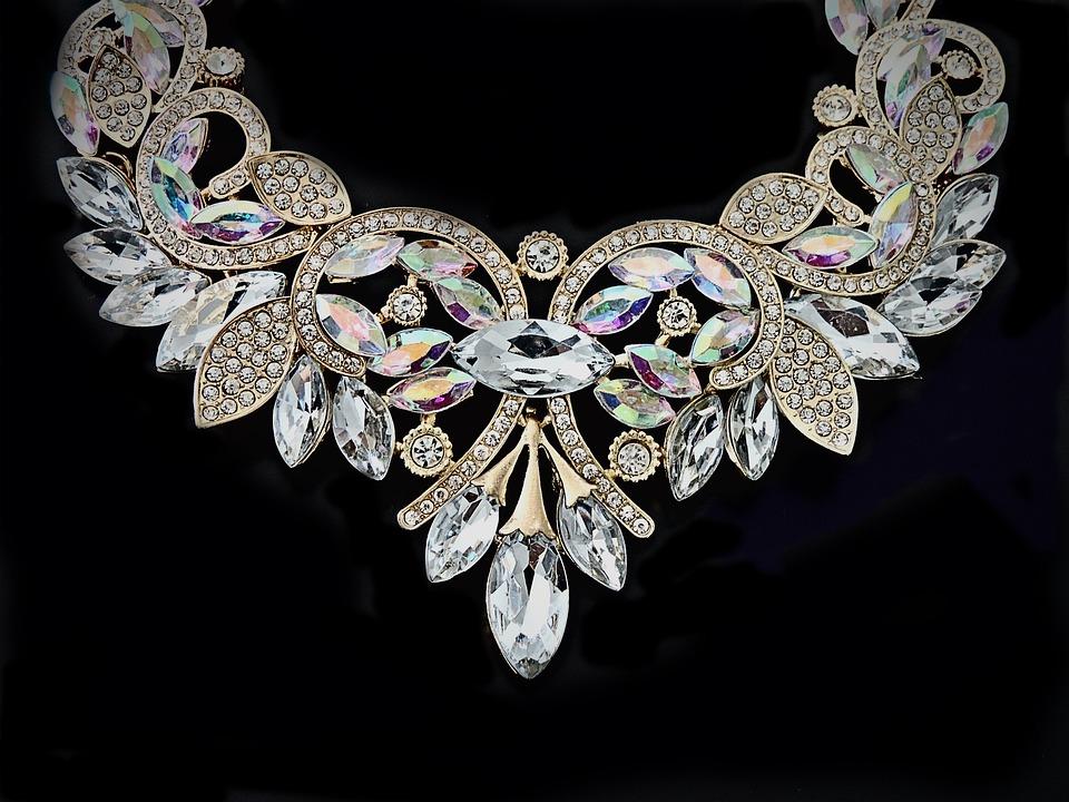 Necklace Crystal 183 Free Photo On Pixabay