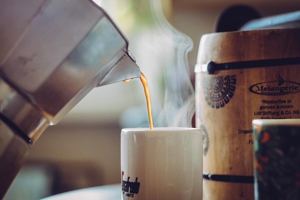Café verde taza