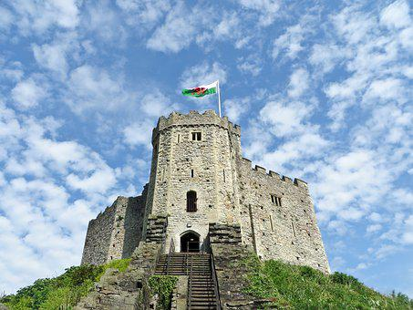 Cardiff Castle, Castle, Tower, Fortress