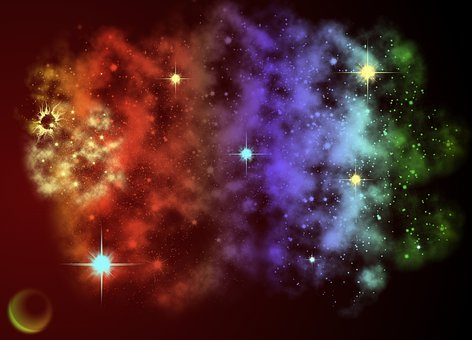 Galaxy, Science Fiction, Space, Abstract