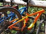 mountain bike, rest