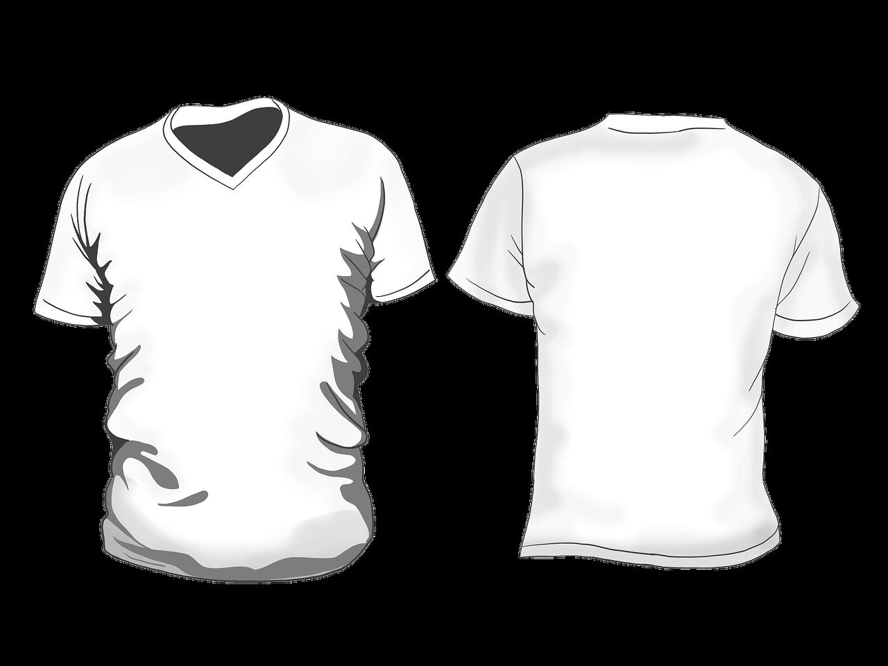 картинки как нарисовать футболку