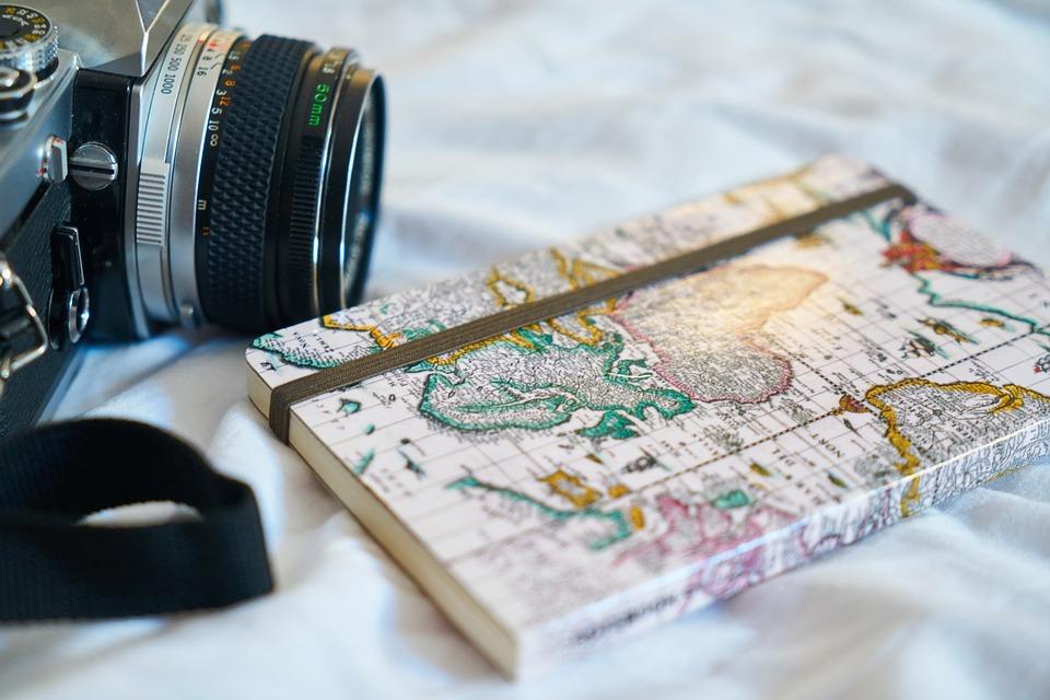 Lama, Notebook, Peta, Buku, Holiday, Mainan Hobi, Foto