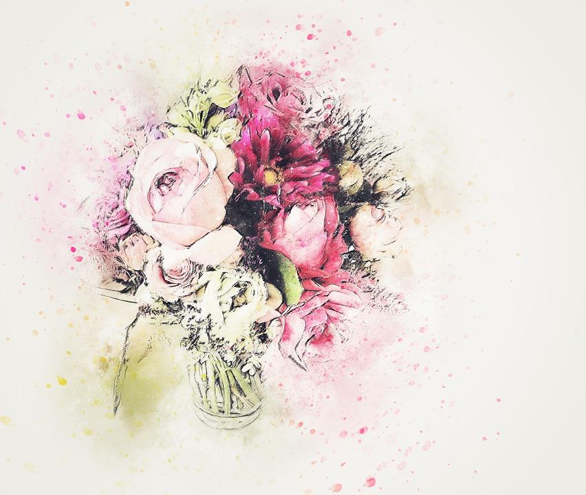 Flowers Roses Vase Free Image On Pixabay