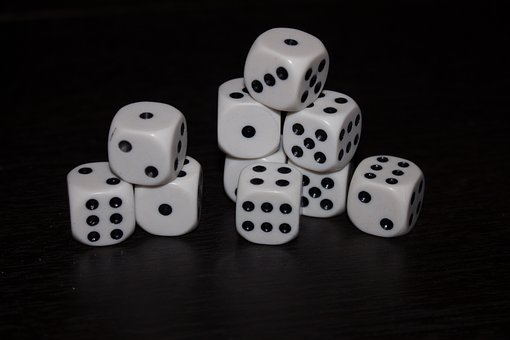 Dice, Black, You Say, Cube, Random, Game
