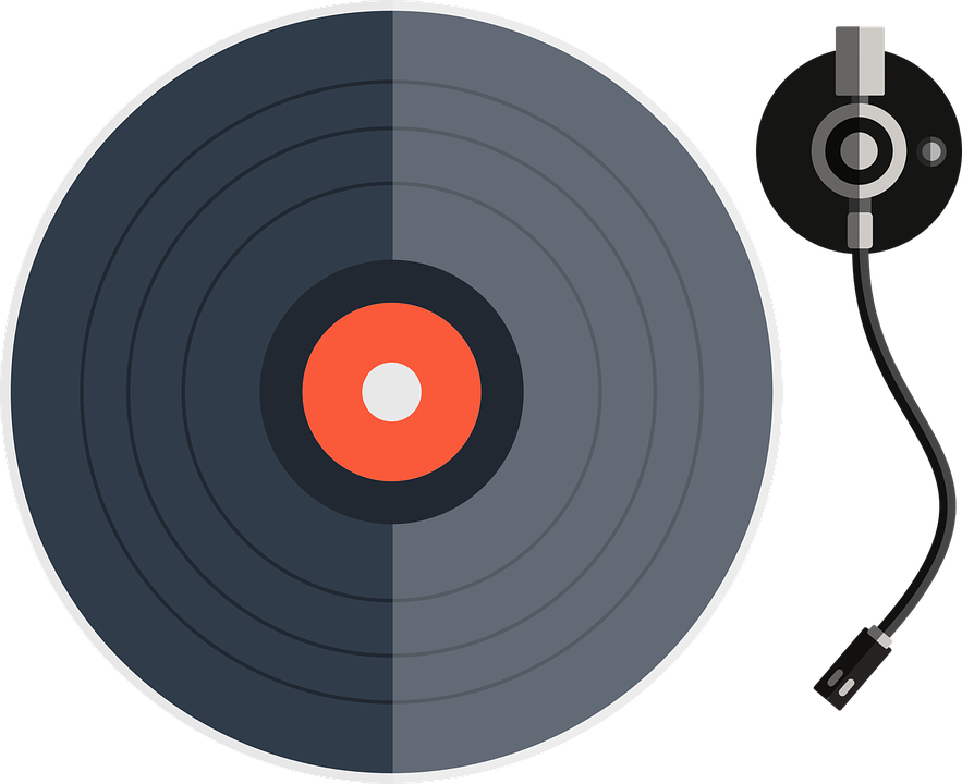 Vinyl Platinum Disk 183 Free Vector Graphic On Pixabay