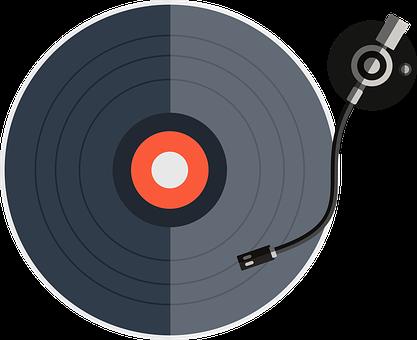 Vinyle, Platine, Disque, Musique, Dj