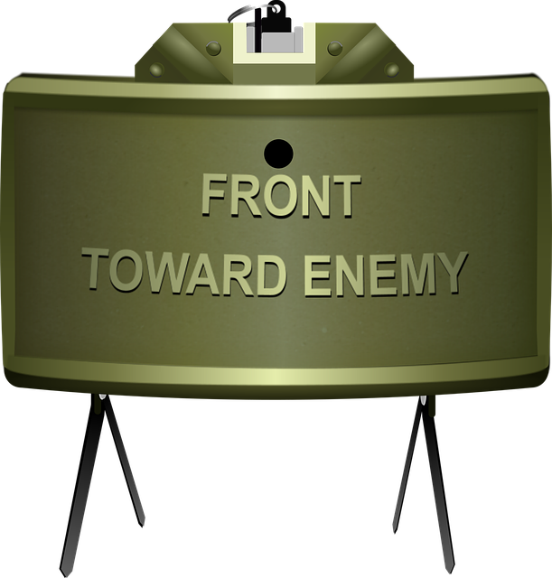 Claymore Mine Army 183 Free Vector Graphic On Pixabay